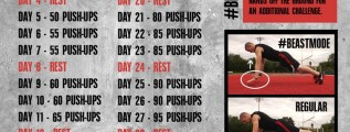 Push Up Challenge For Men
