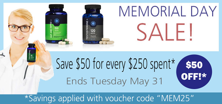 HGH Sale Memorial Day 2016