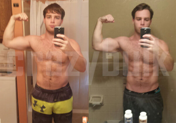 Matt J Before And After Cutting Stack