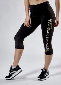 Women's Crazy Bulk Performance Capri Leggings
